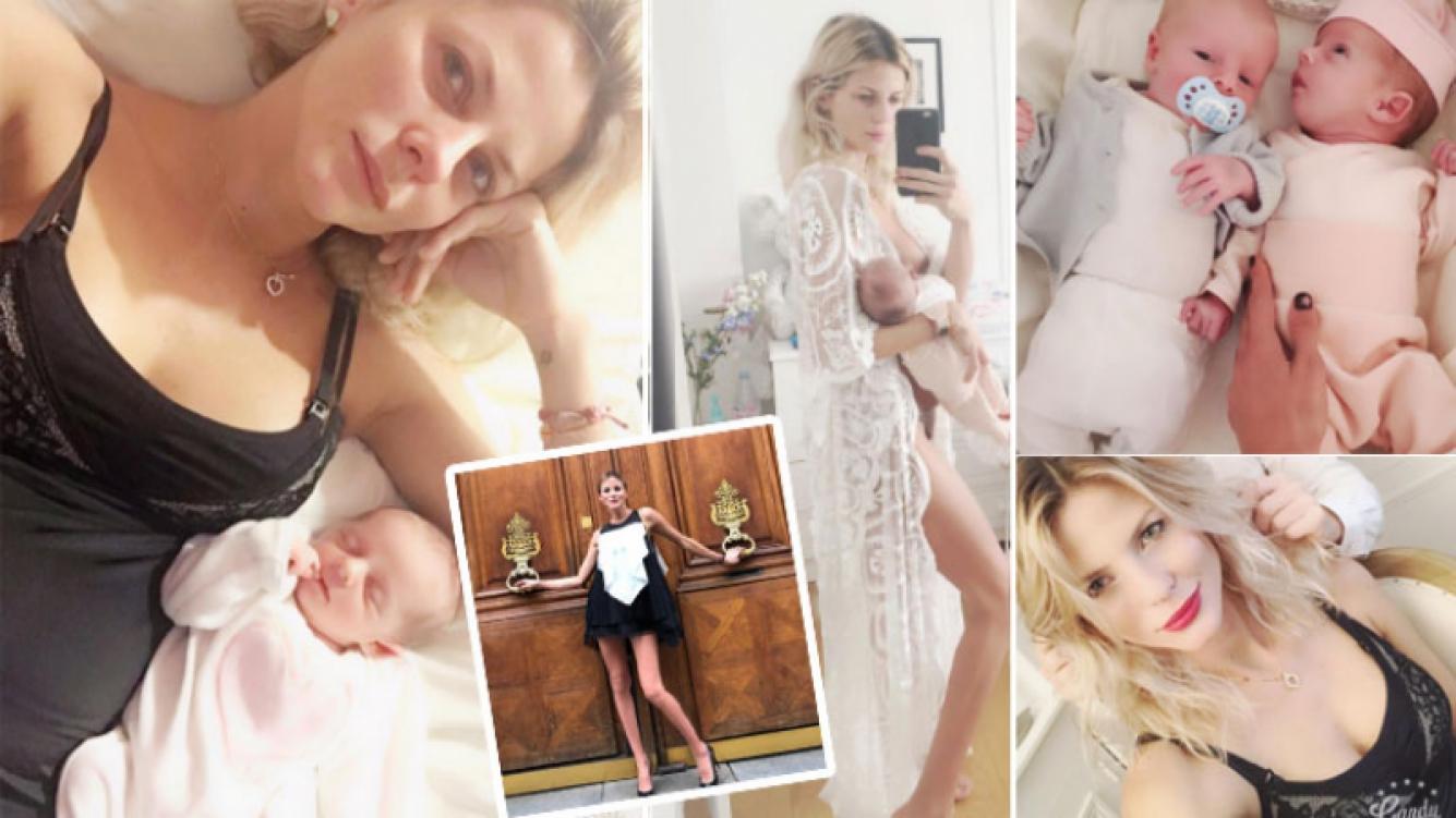 Las fotos sexies de Jimena Buttigliengo, a menos de un mes de dar a luz a sus mellizos