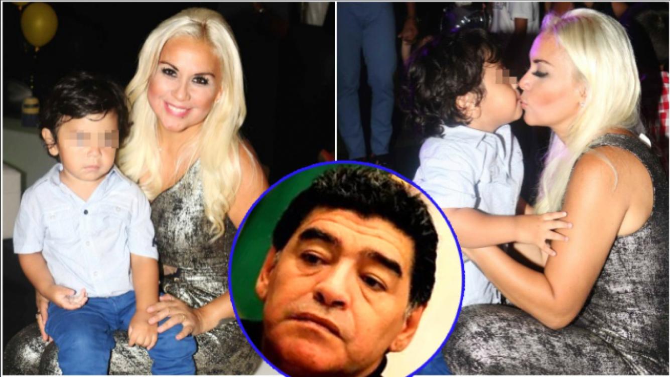 Dieguito Fernando, el hijo de Diego Maradona y Verónica Ojeda, internado en Miami (Fotos: Ciudad Magazine y Web)