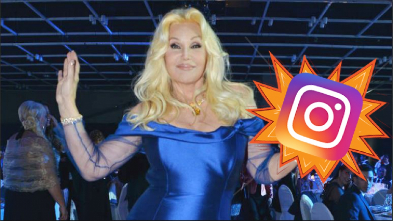 ¡UNA DIVA TOTAL! Susana Giménez se hizo Instagram