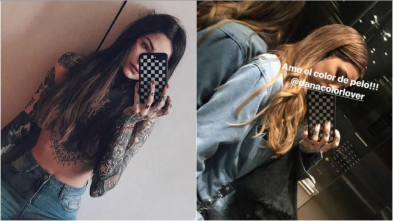 """Cande Tinelli renovó su look castaño por una cabellera de """"oro"""": """"Amo este color de pelo"""" Foto: Instagram Stories"""