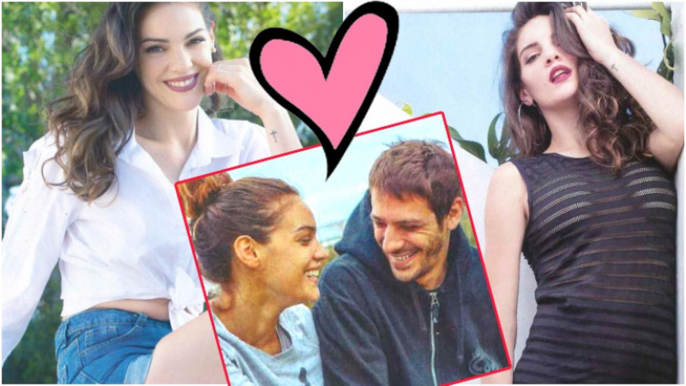Macarena Paz, muy enamorada, reveló su táctica para conquistar a su novio (Fotos: revista Gente)