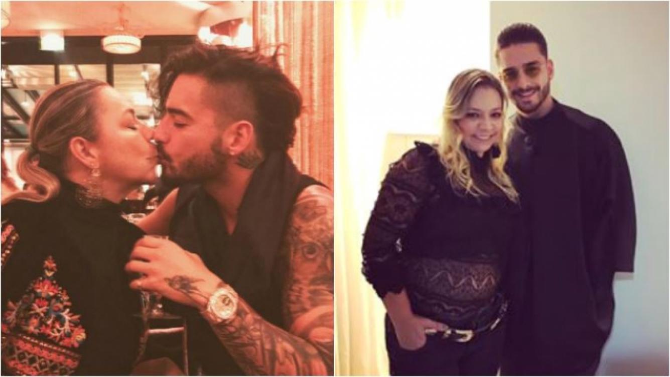 """Maluma se fotografió besándose con su madre y se armó la polémica: """"Un amor como tú"""" Foto: Instagram"""