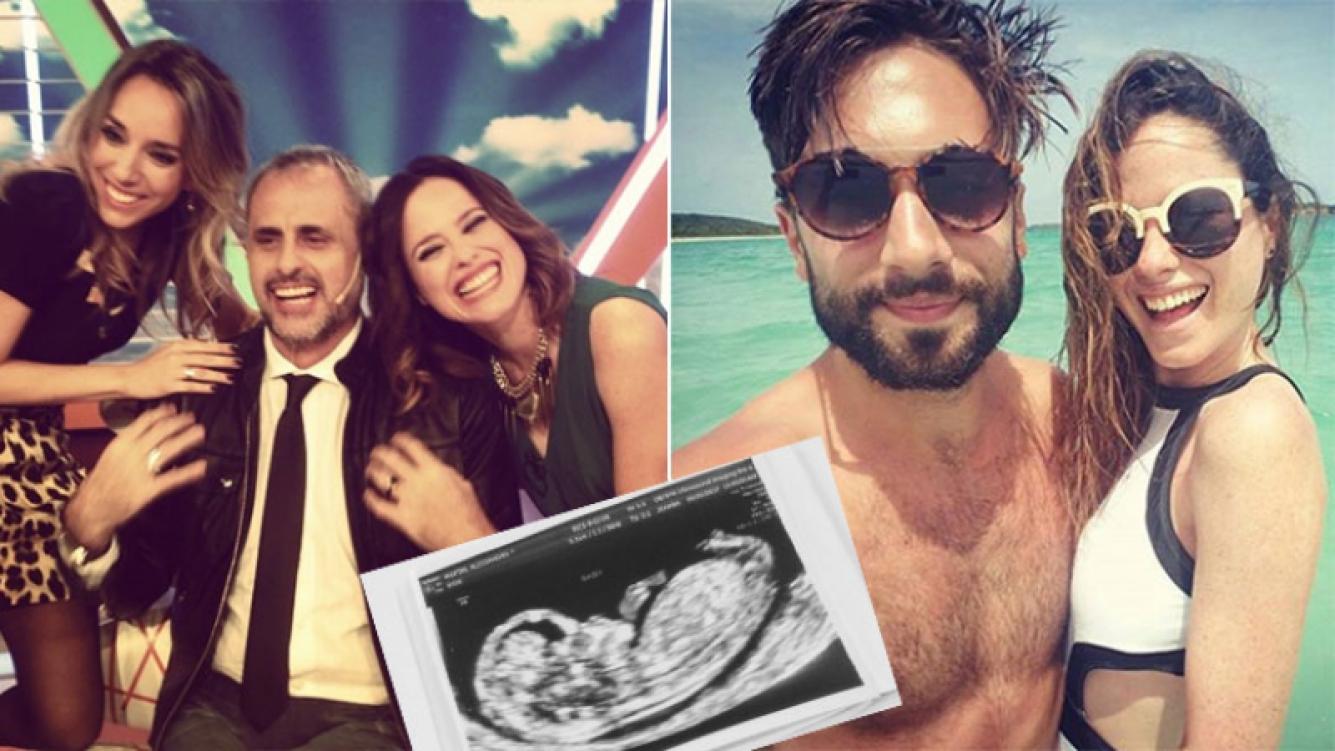 Alessandra Martin, la expanelista de Intrusos, está embarazada de tres meses