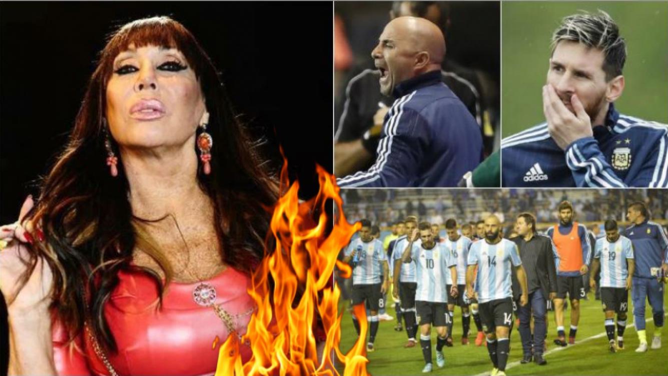 """Moria Casán, súper picante con la Selección: """"Los futbolistas son los nuevos divos, ganan más que los actores de Hollywood y no sienten ni la camiseta, ni la Argentina"""""""