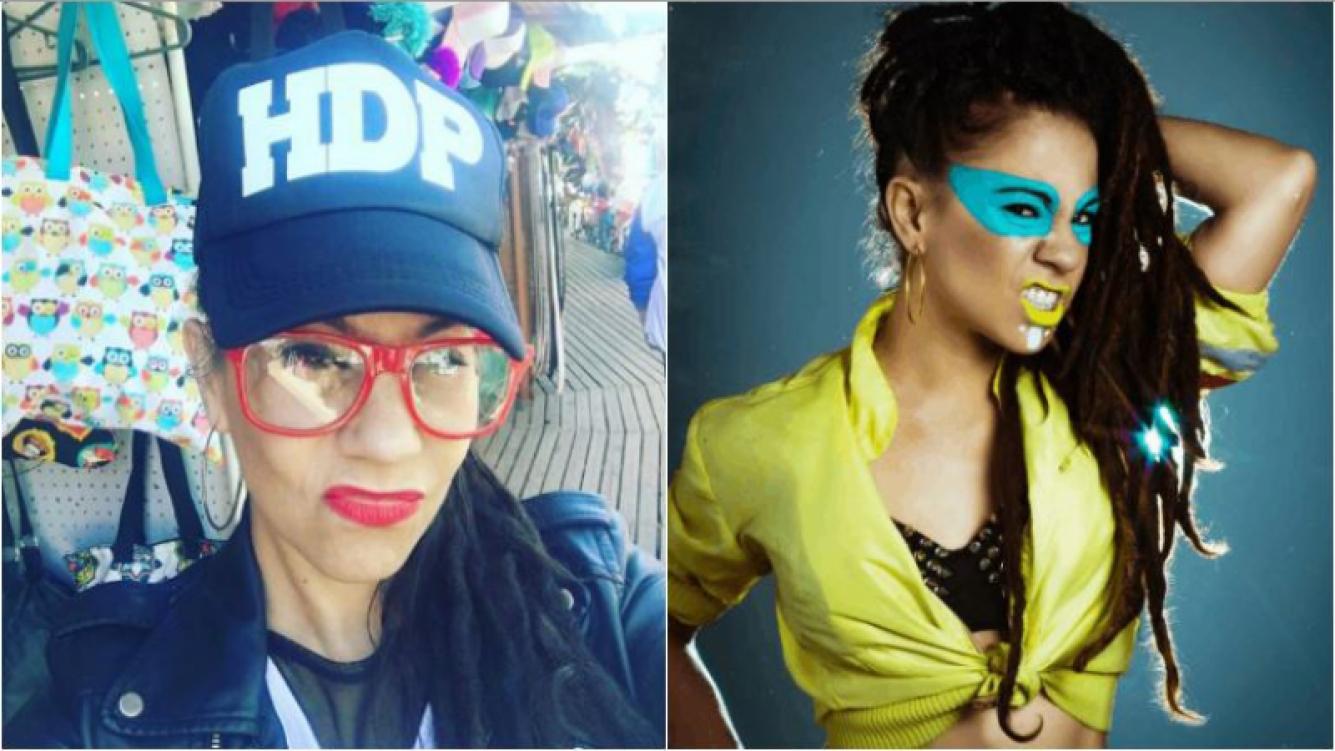 """La selfie de Miss Bolivia y su particular gorra con la leyenda """"HDP"""": """"Finalmente encontré una gorra para mí"""""""