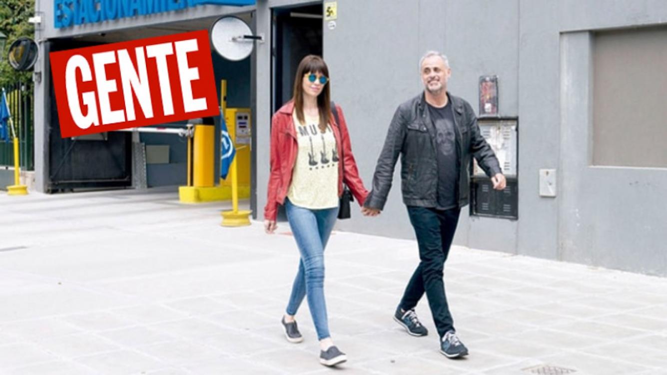 Romina Pereiro y Jorge Rial pasaron el domingo juntos y fueron al Malba. (Foto: revista Gente)