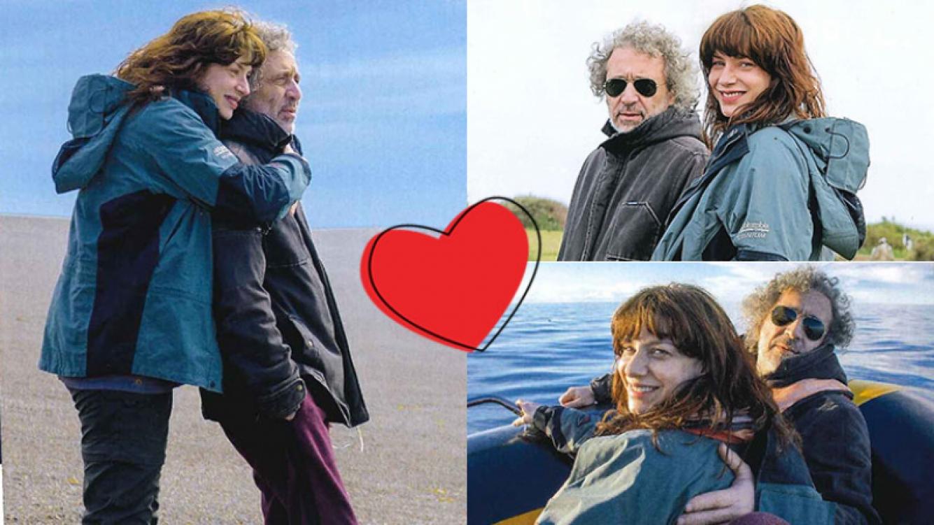 Romina Gaetani y su  novio rockero, enamorados en Puerto Madryn (Fotos: Caras).