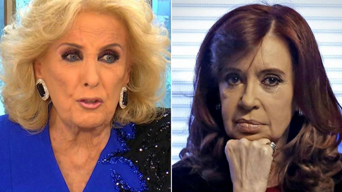 """La contundente respuesta de Mirtha Legrand luego de que CFK la tildara de """"mala persona"""""""