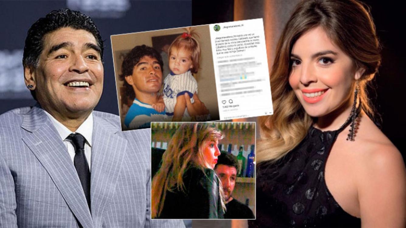 Diego Maradona anunció que Dalma se casa con su novio con un emotivo mensaje: Caballeros como mi yerno no existen...