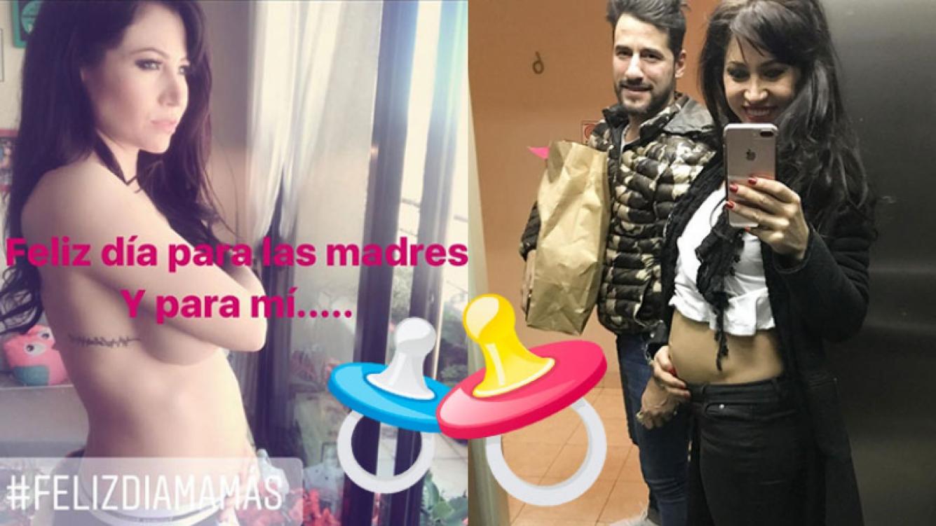 Adabel Guerrero y su foto más sexy embarazada para celebrar el Día de la Madre