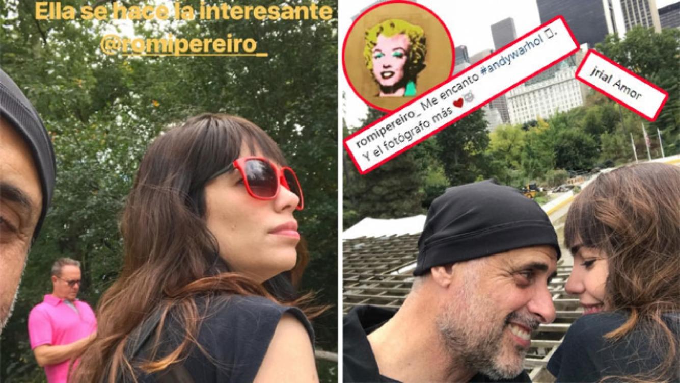 A pura ternura, Jorge Rial expresó lo que siente por Romina Pereiro: Amor