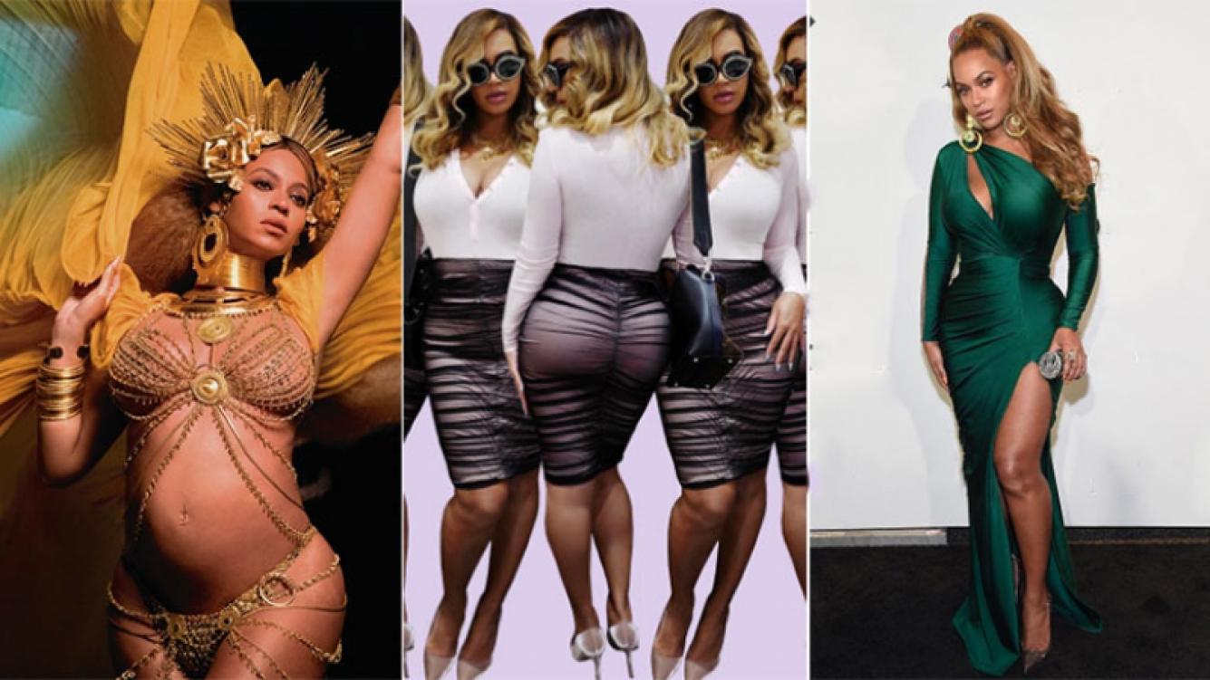 Las fotos sexies de Beyoncé a cuatro meses de dar a luz a sus mellizos