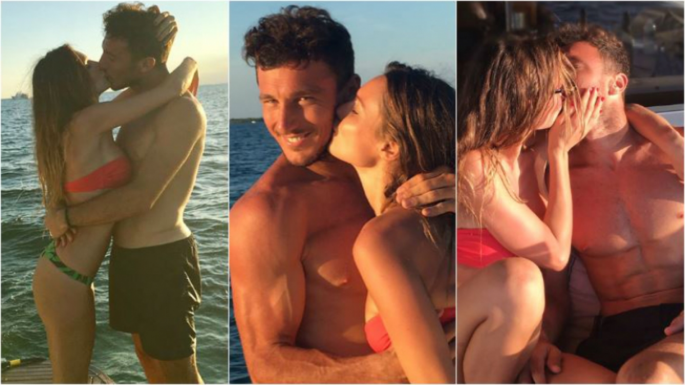 ¡Pareja súper hot! Las románticas fotos de Pampita y Pico Mónaco de mini vacaciones: besos y lomazos al sol. Foto: Instagram