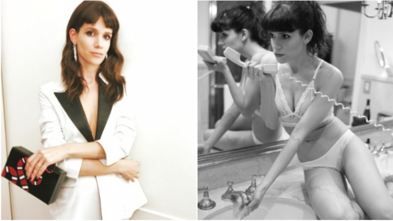 La foto ultra sexy de Violeta Urtizberea, la actriz de Las Estrellas (Fotos: Instagram)