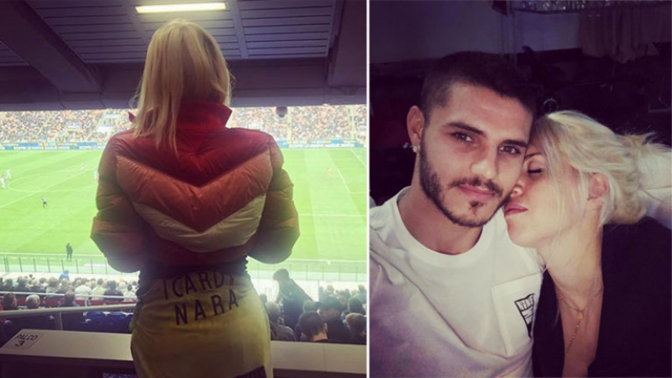 El romántico mensaje de Wanda Nara a Mauro Icardi: Siempre estaré detrás de ti .. para gritar tus goles o calmar tu...