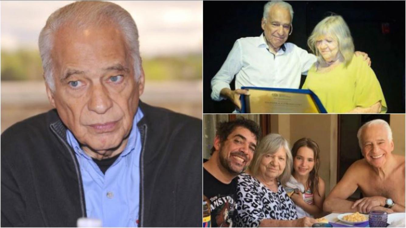 """La tristeza de Alberto Cormillot por la muerte de su exmujer: """"Estábamos separados, pero nos vimos todos los días durante 56 años"""""""