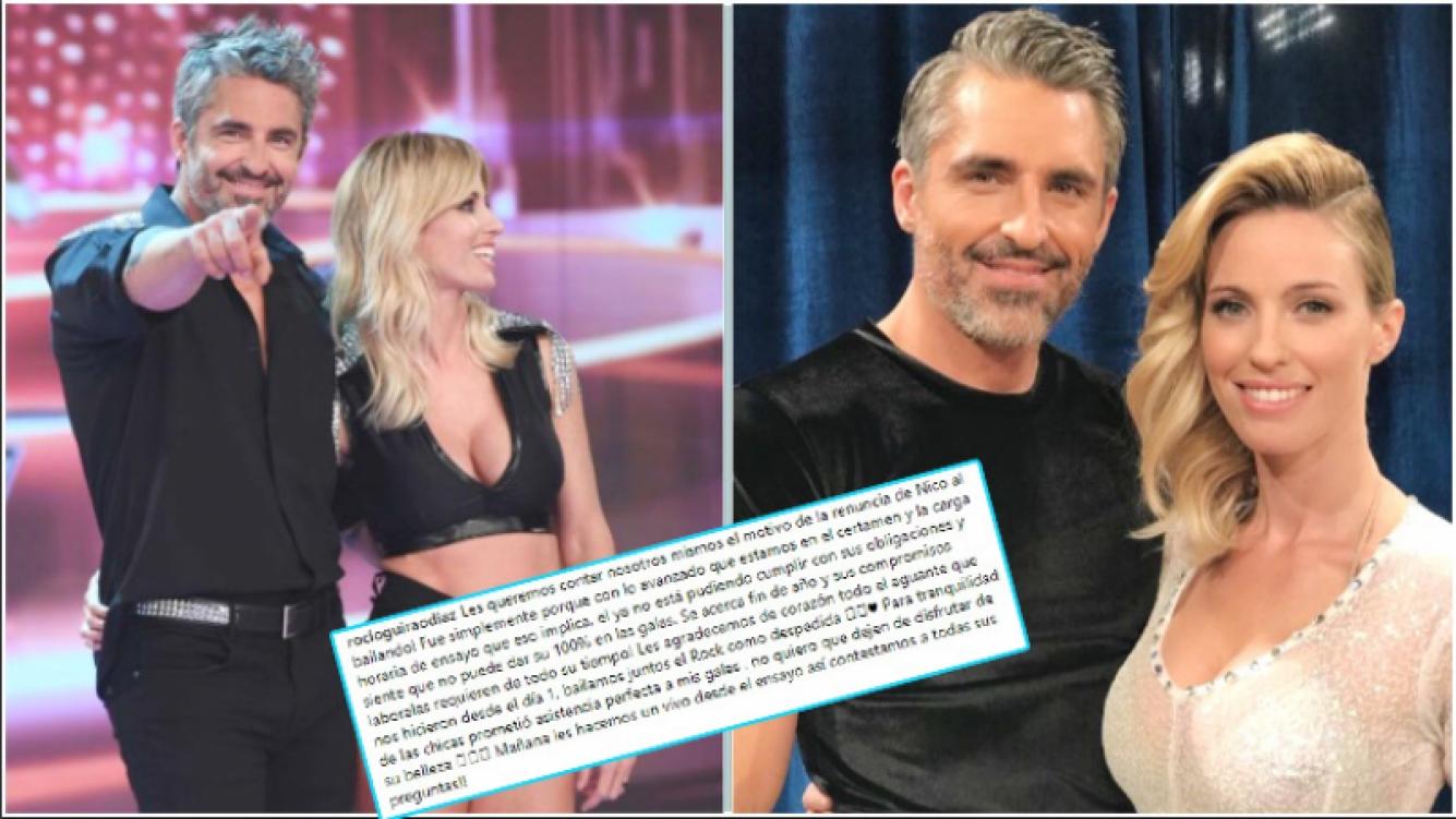 Tinelli comunicó la renuncia de otro participante del Bailando