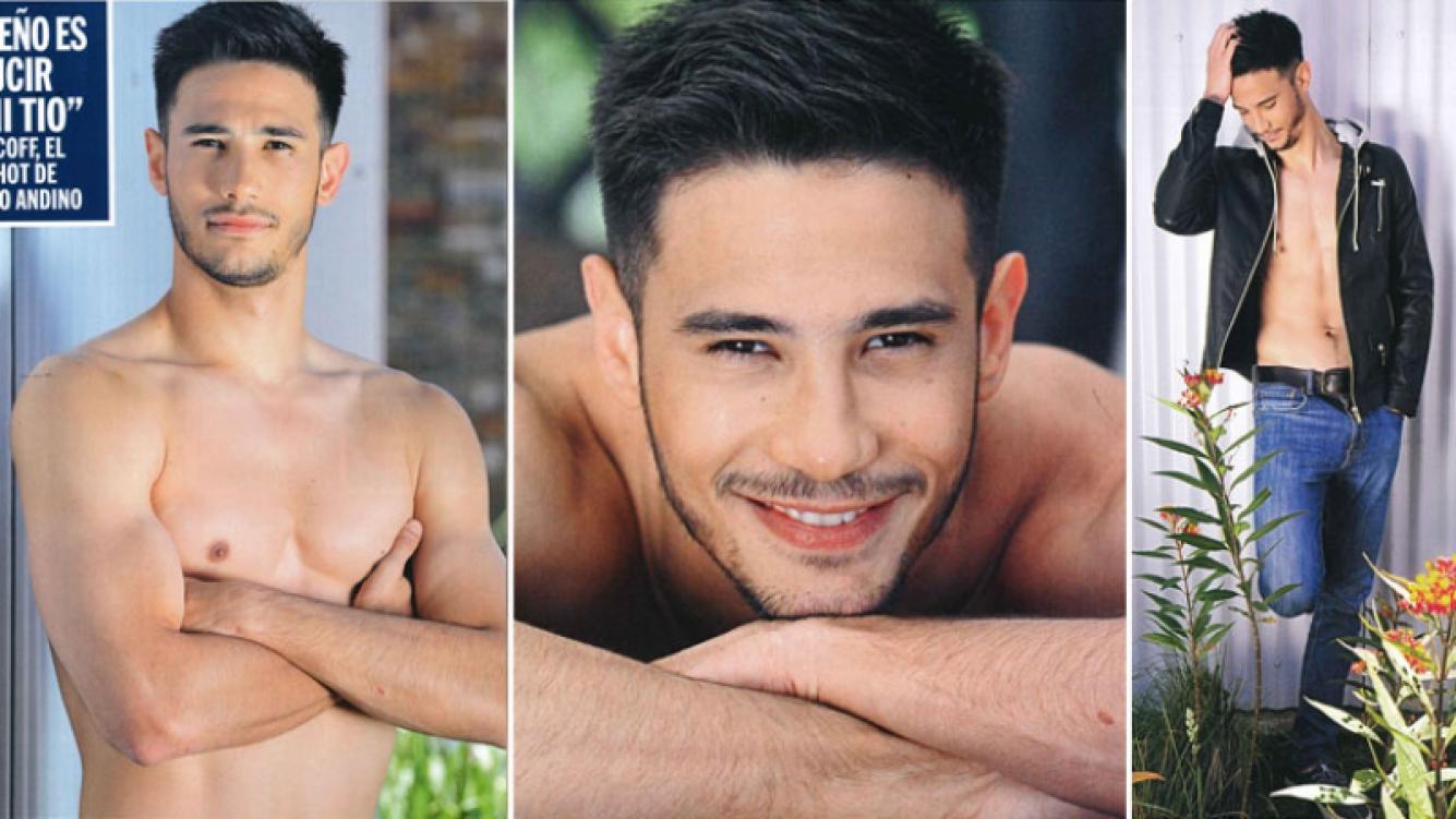 Las fotos hot de Juan Ignacio Velcoff, el sobrino hot de Guillermo Andino que quiere ser famoso: Mi arma de seducción...