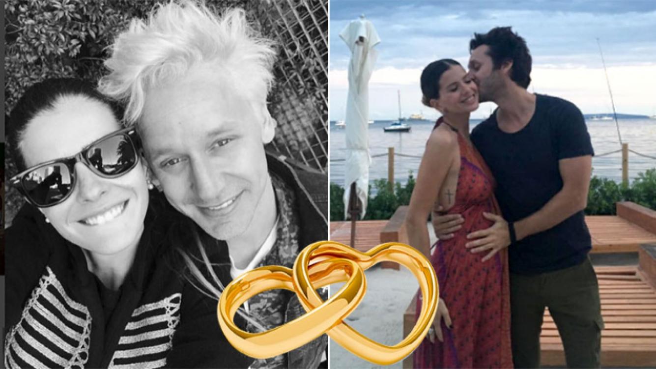 ¡Doble boda! China Suárez reveló que se casará con Benjamín Vicuña en Argentina y Chile.