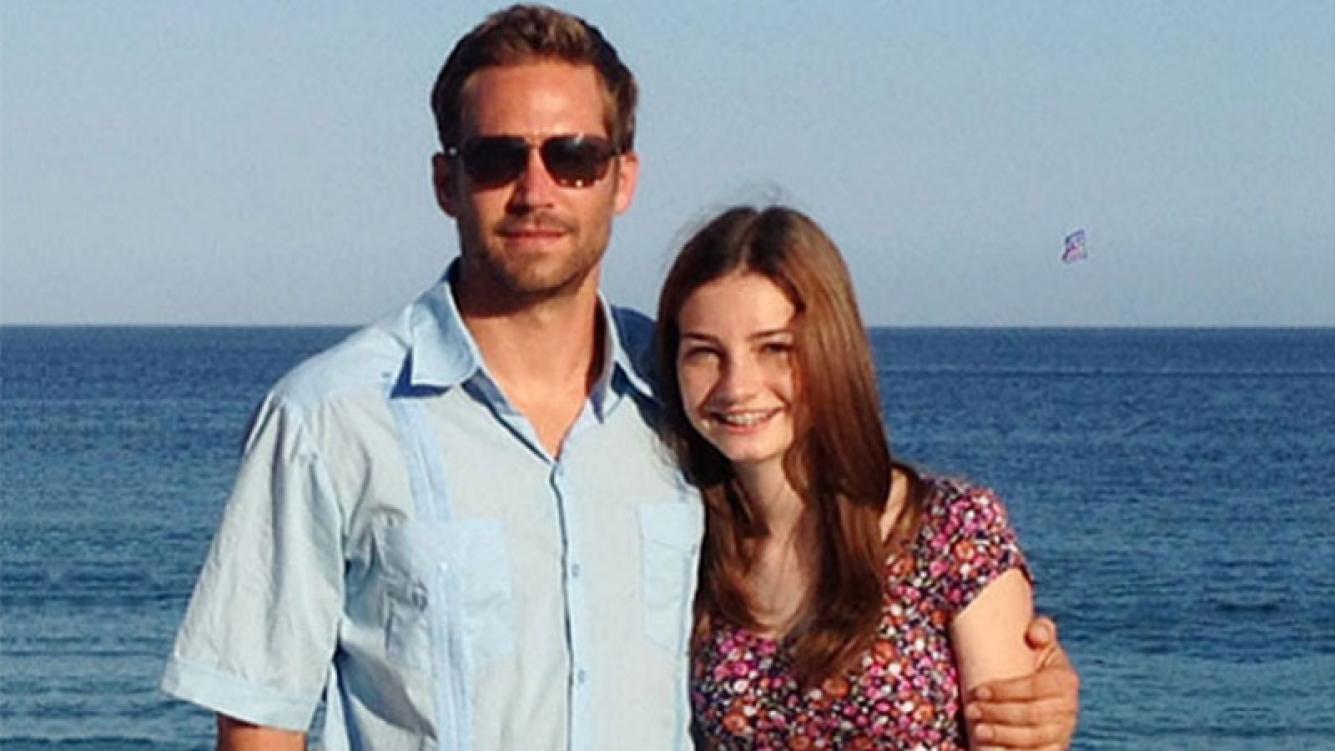 La hija de Paul Walker cobrará 10 millones de dólares de acuerdo con Porsche por la muerte de su padre