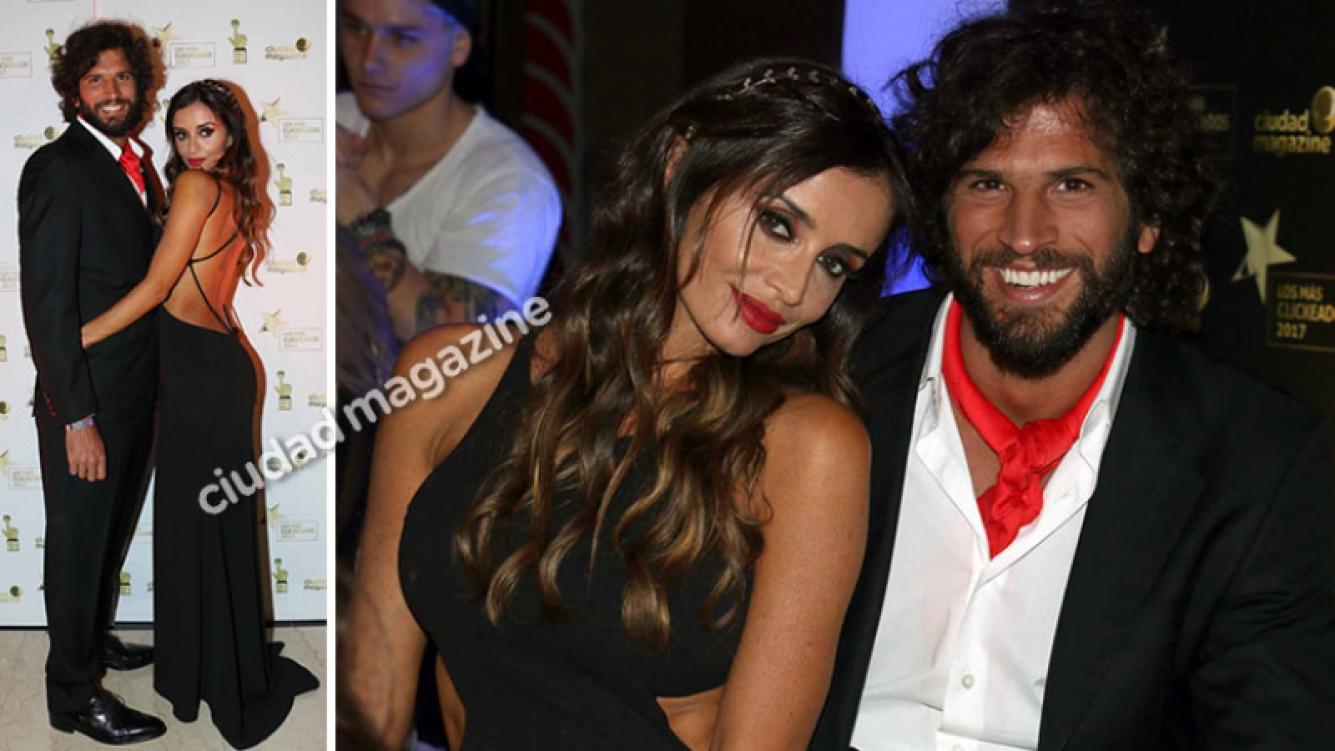 Paz Cornú presentó a su novio modelo en la fiesta de Los Más Clickeados 2017