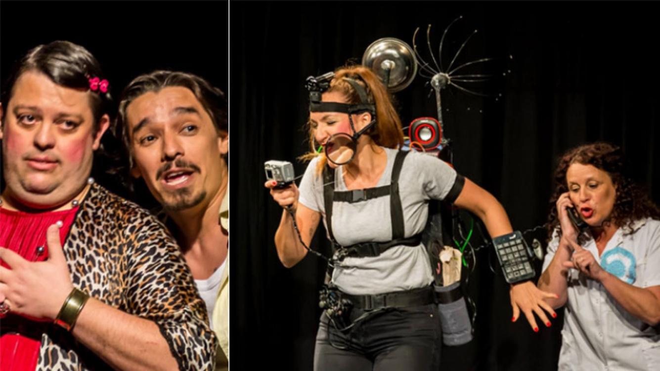Agenda teatral: Dos veces bueno, un imperdible ciclo de teatro breve de humor