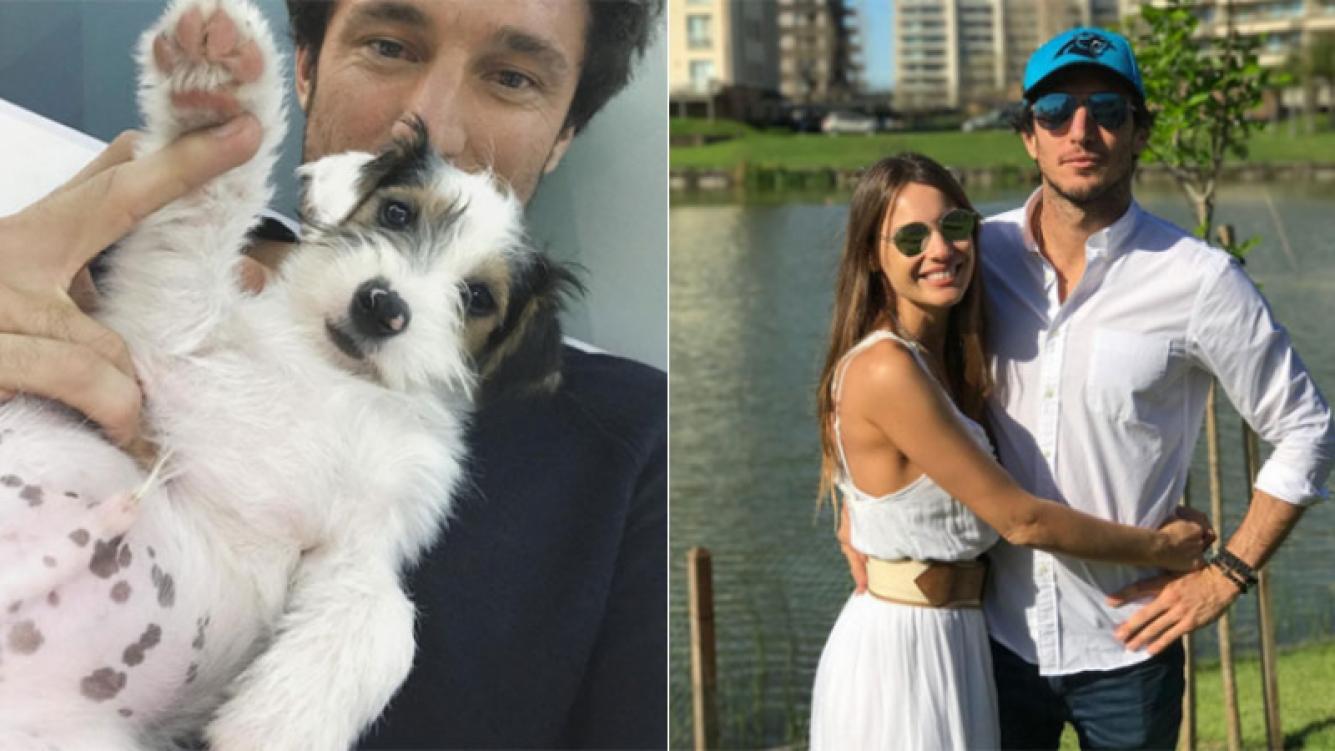 Pico Mónaco presentó al perrito que sumó al hogar que comparte con Pampita: ¡mirá cómo se llama!