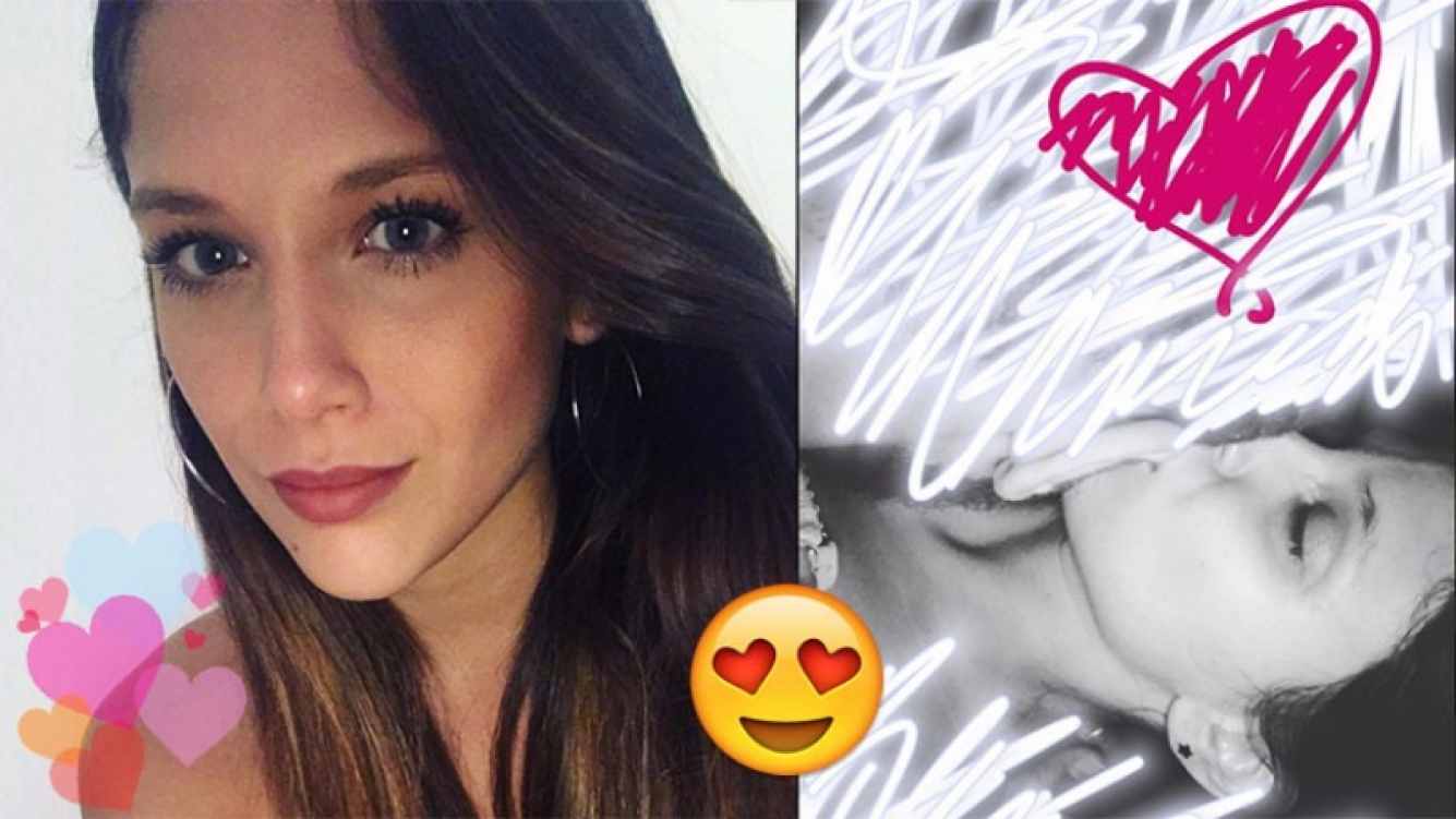 """¡Cuánto misterio! Barbie Vélez, apasionado beso """"censurado"""" en su cuenta de Instagram"""