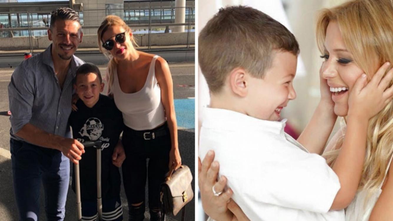 El orgullo de Evangelina Anderson por su hijo: Basti fue elegido para representar a su escuela en el torneo...