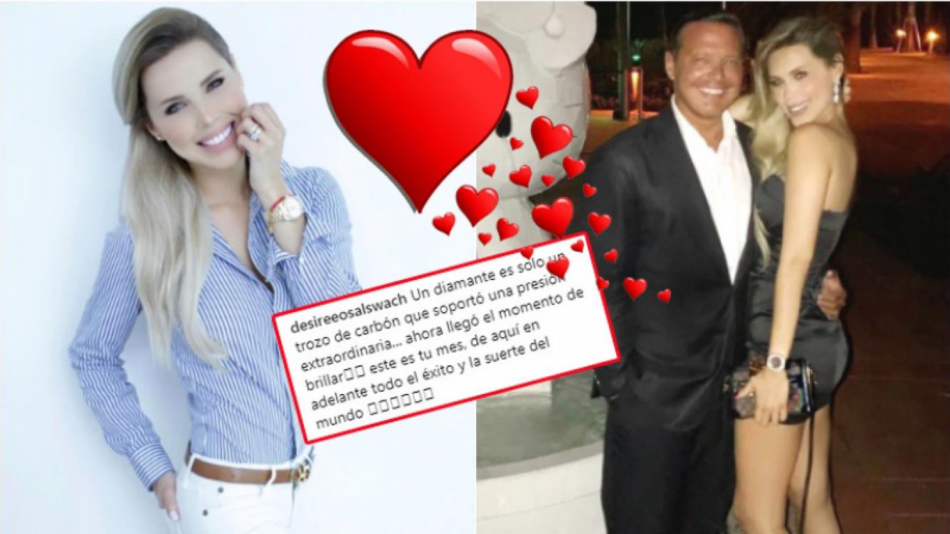 La romántica foto de Luis Miguel con su novia, una famosa conductora venezolana 16 años menor (Fotos: Instagram)
