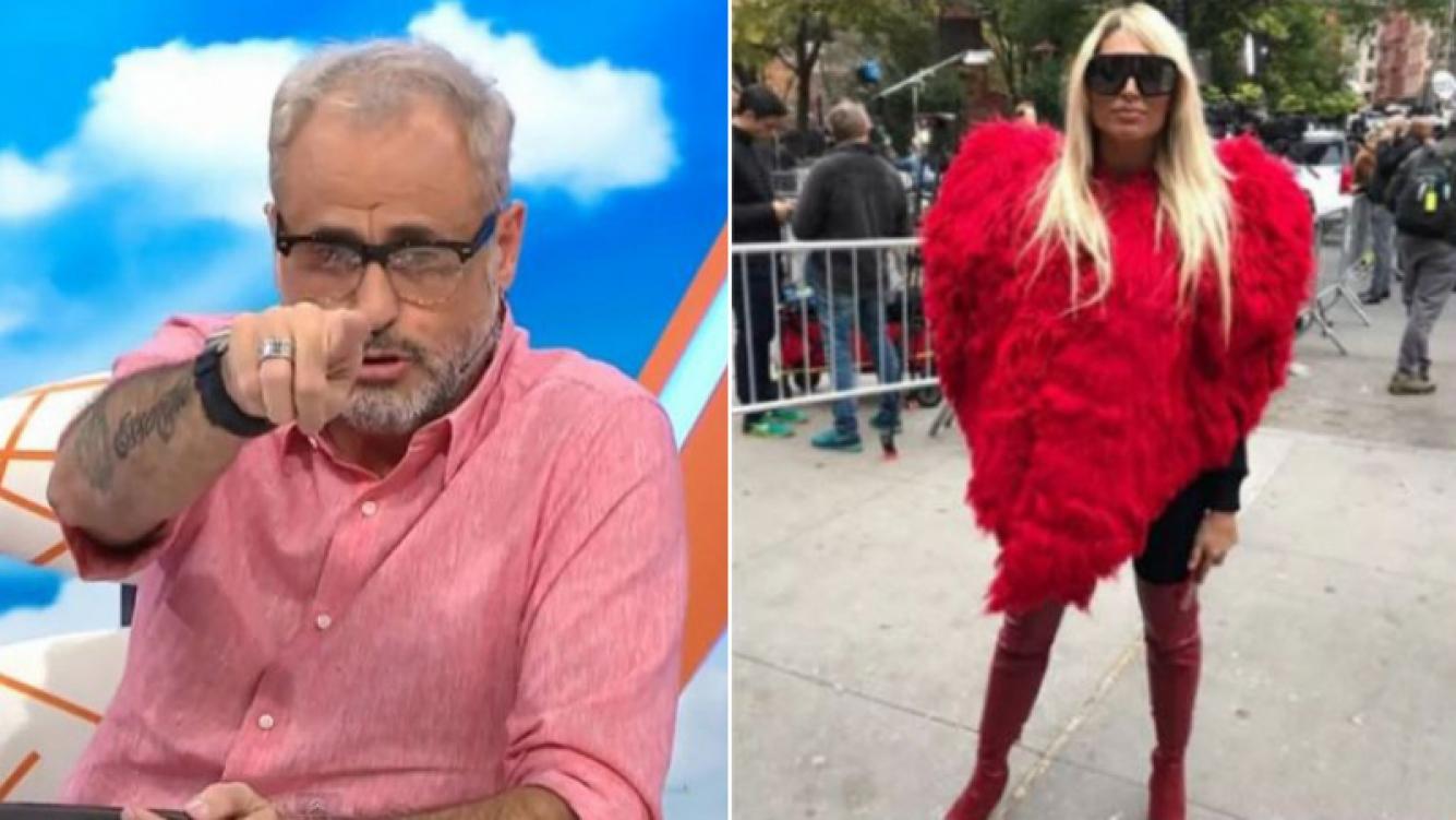Fuerte crítica de Rial a Xipolitakis por aparecer en el lugar del atentado de Nueva York