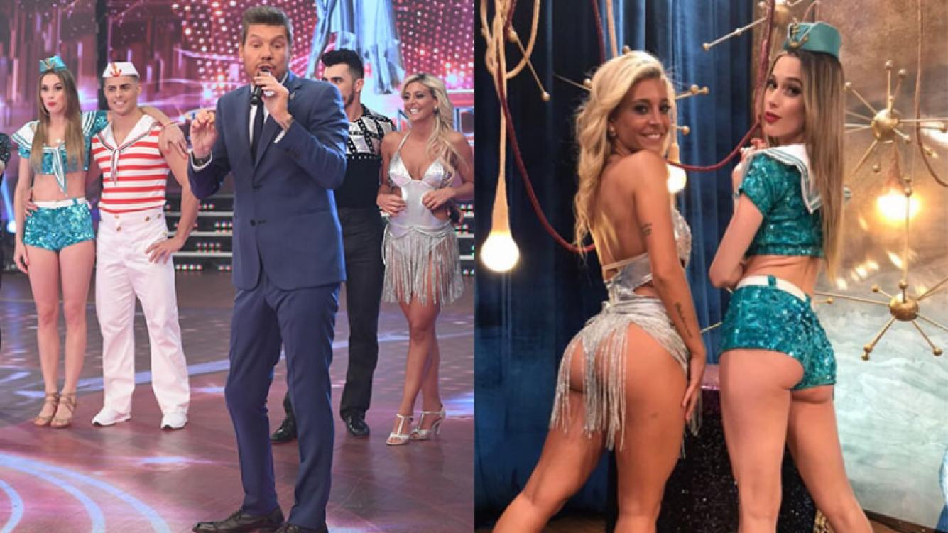 Chechu Bonelli y una foto sexy junto a Sol Pérez en su despedida del Bailando: Le dije enseñame la pose