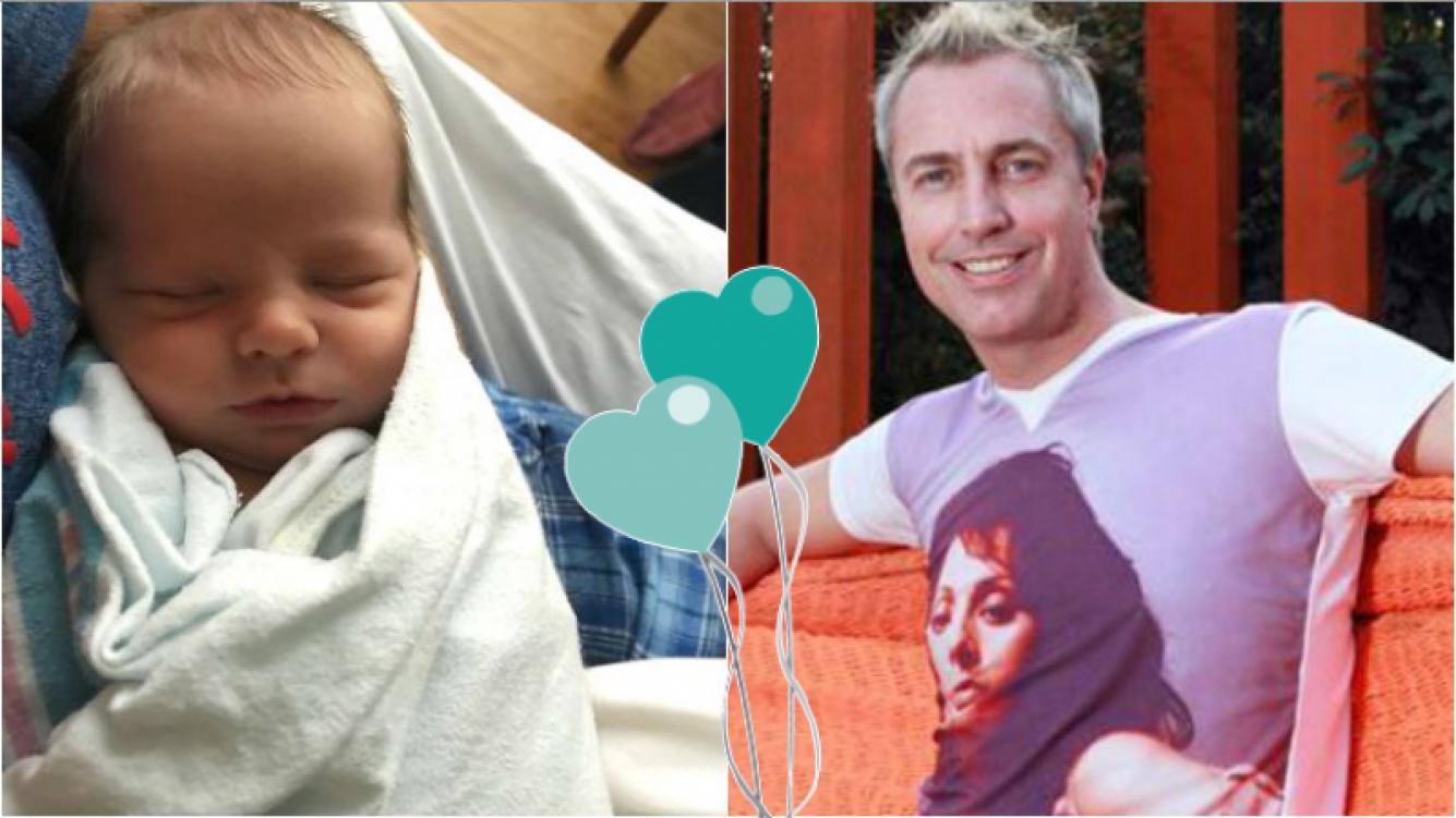 """Marley, emocionado mostró la carita de su bebé: """"A las 17:27 hora de Chicago nacía hace una semana este precioso ser, mi hijo Mirko"""""""