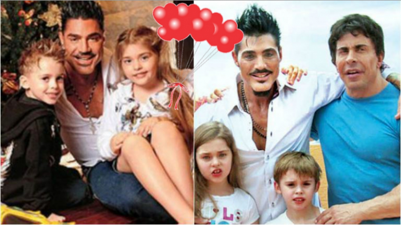 Los emotivos mensajes de los hijos de Ricardo Fort y Gustavo Martínez en el día del cumpleaños del empresario
