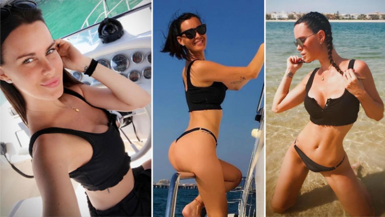¡Una reina en el desierto! El relax hot de Natalie Weber en Dubai