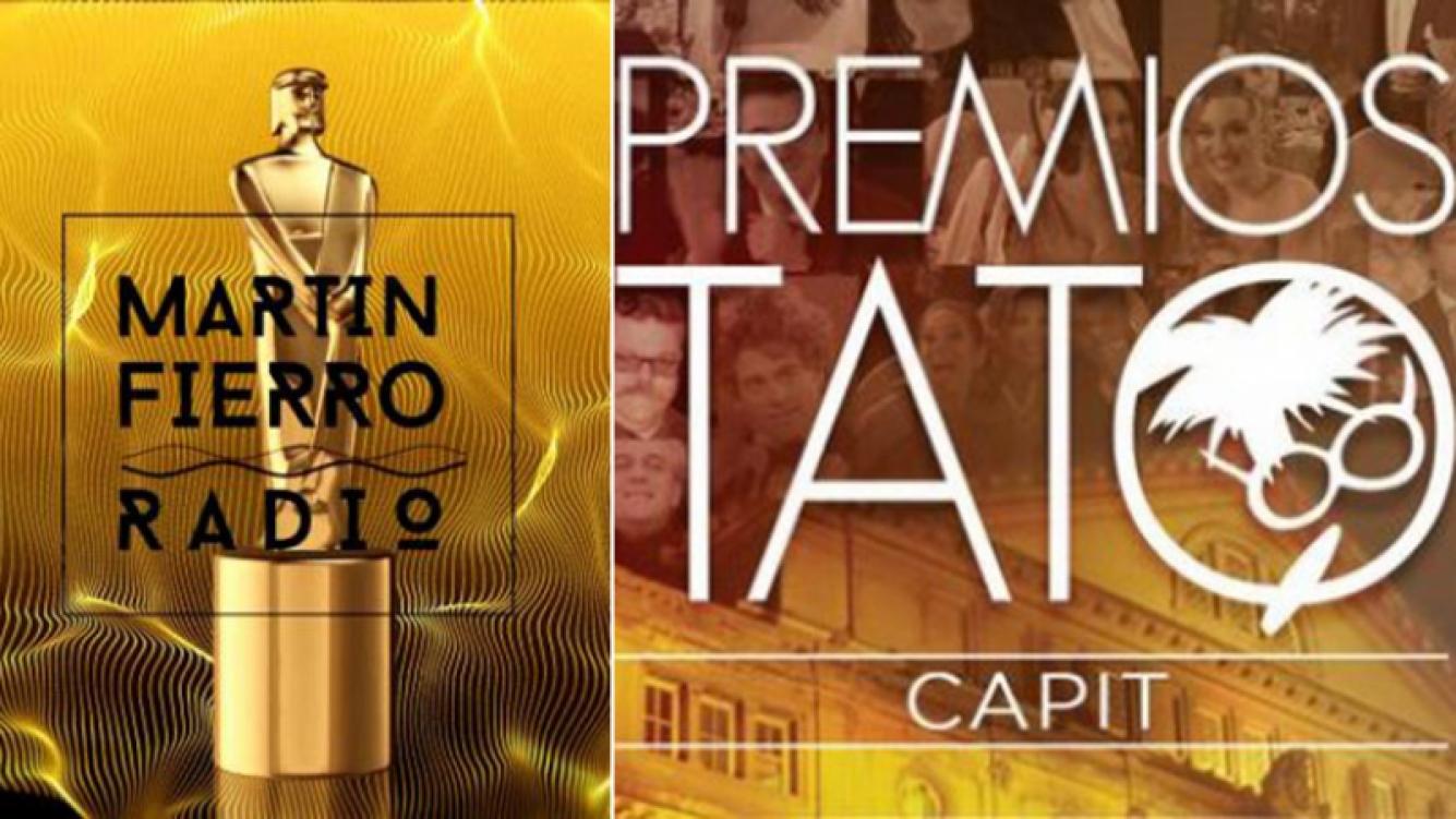 Los premios Martín Fierro de Radio y los Tato serán los últimos grandes premios del año.