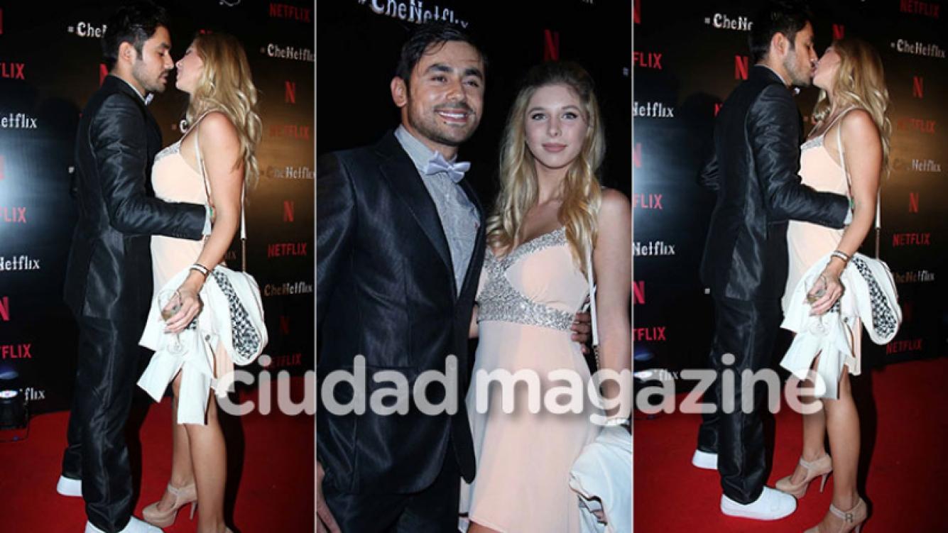 Romina Malaspina, de novia con el actor de El Marginal Daniel Pacheco (Foto: Movilpress)