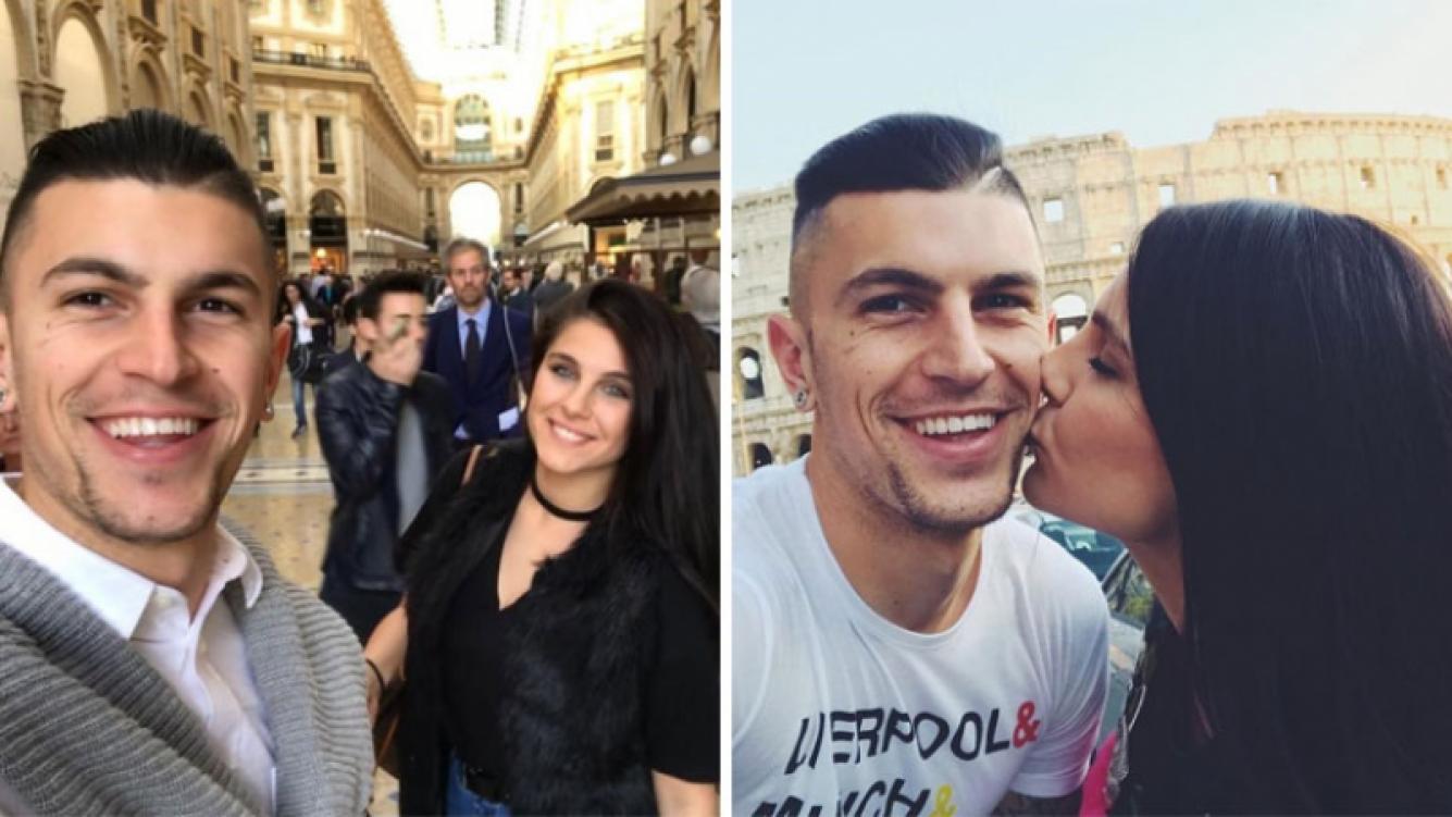La romántica convivencia de Ivana Icardi y Luifa Galessio en Italia: besos, mimos y paseos