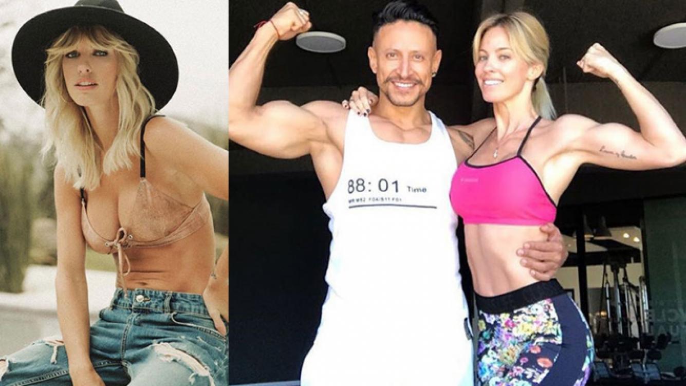 Rocío Guirao Díaz mostró sus súper músculos en el gym