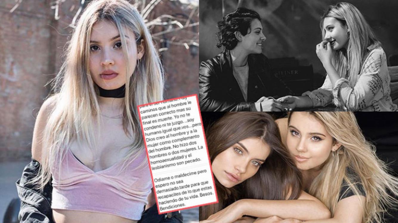 La hermana actriz de Eva de Dominici reveló los insólitos mensajes que recibe en Instagram tras contar que sale con...