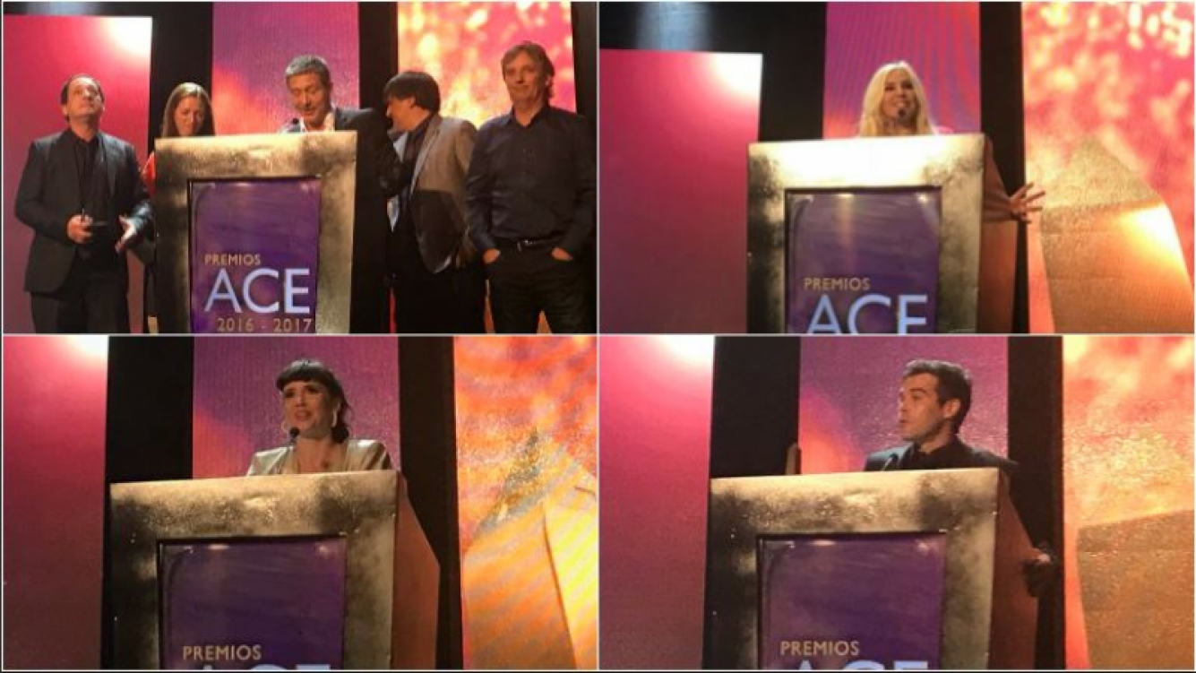 Todos los ganadores de los Premios Ace 2017: Suar, Chavez, Susana, Siciliani, Solá, Cabré y el Oro fue para Santiago Doria