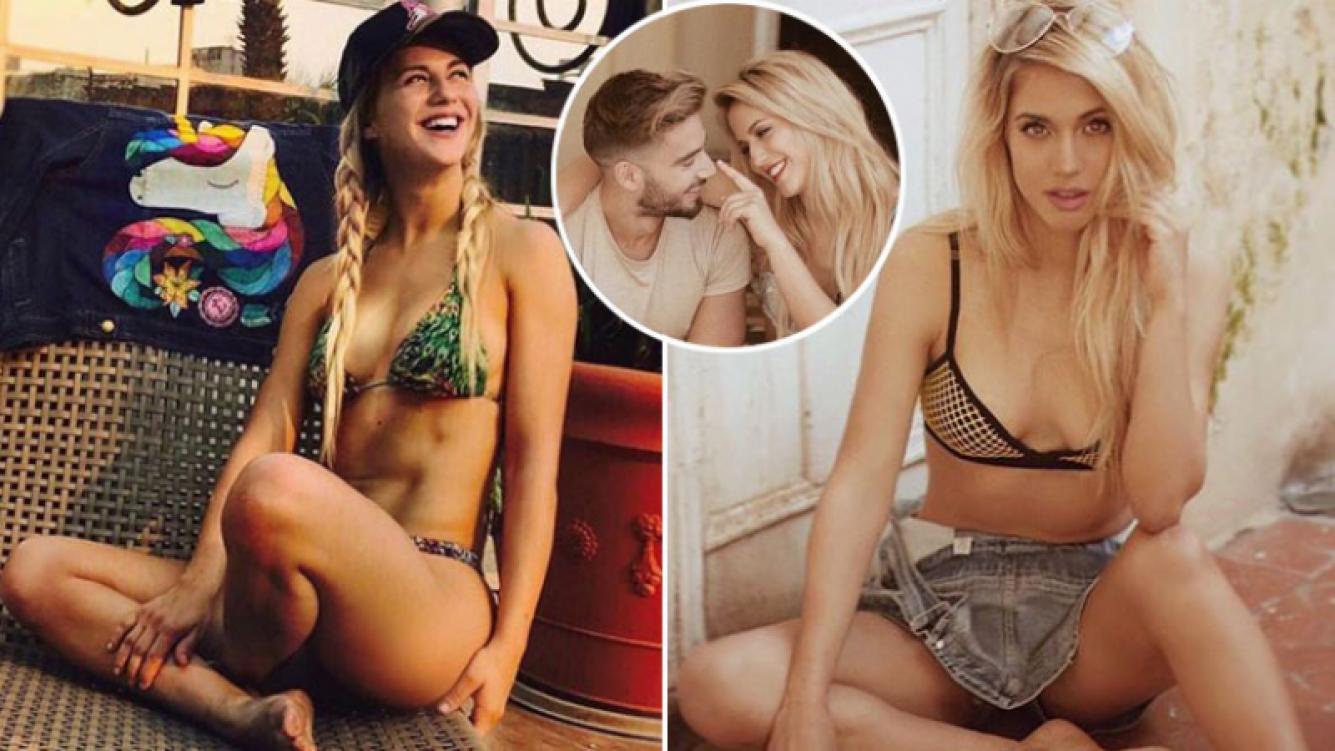 Flor Vigna se resiste a considerarse una bomba sexy. (Fotos: Instagram)