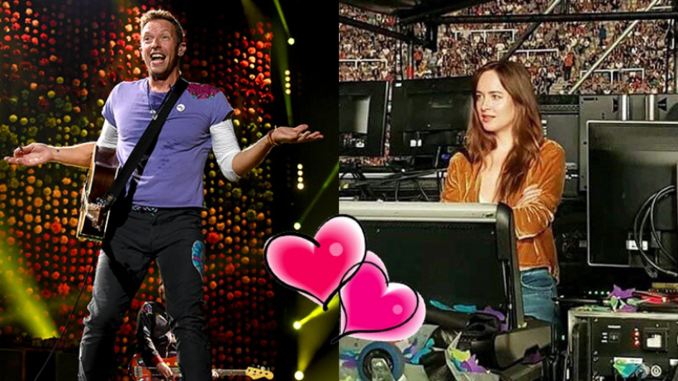 Dakota johnson como una fan m s de chris martin en el for Johnson argentina