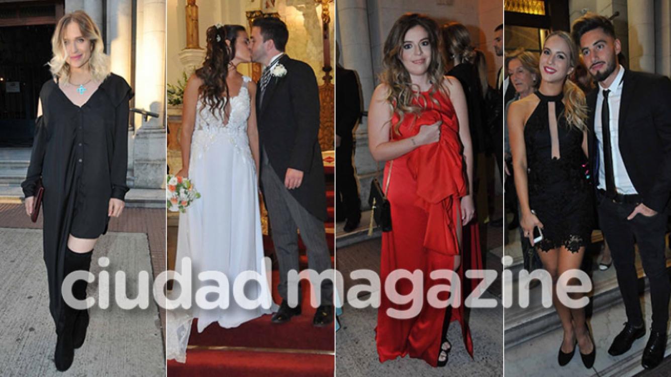 Las fotos de la boda de Micaela Vázquez con Federico Larroca: emoción, looks e invitados famosos. (Fotos: Movilpress)