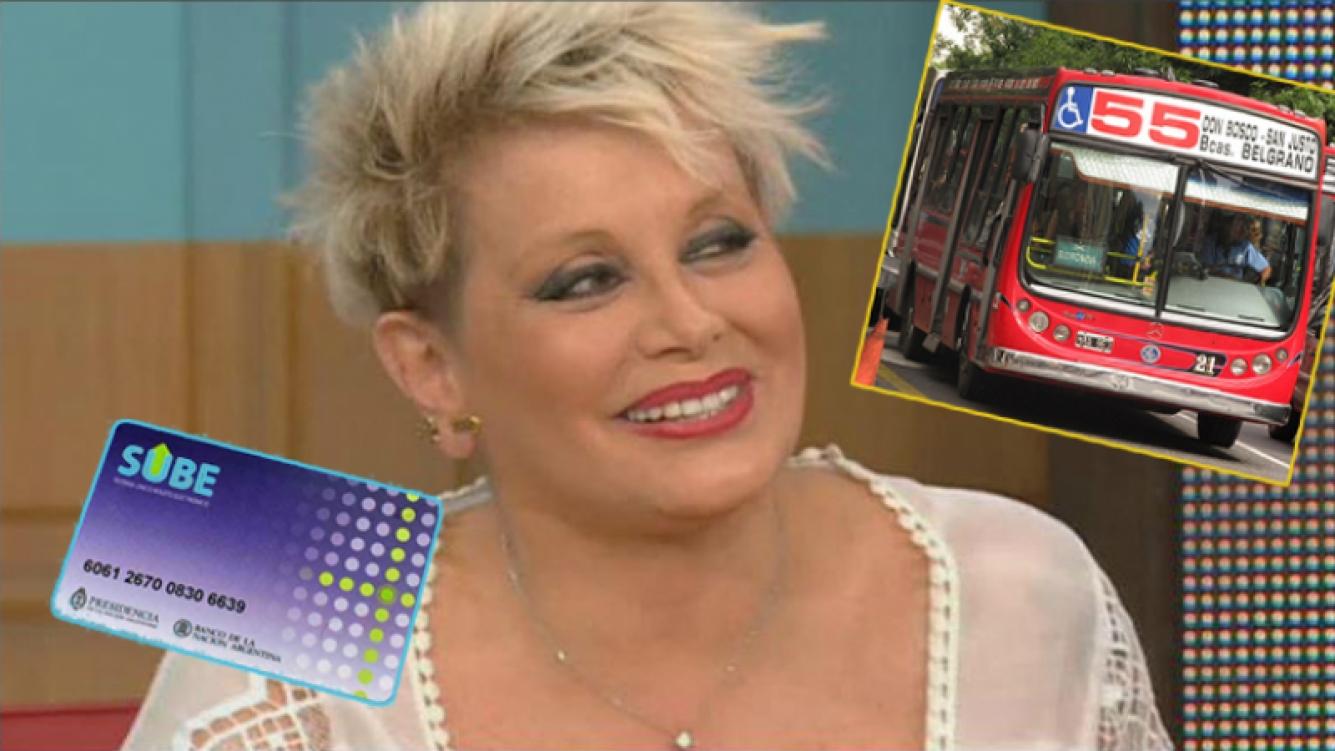 La revelación sin divismo de Carmen Barbieri: Estoy viajando en colectivo, me compraron la SUBE y voy en el 55