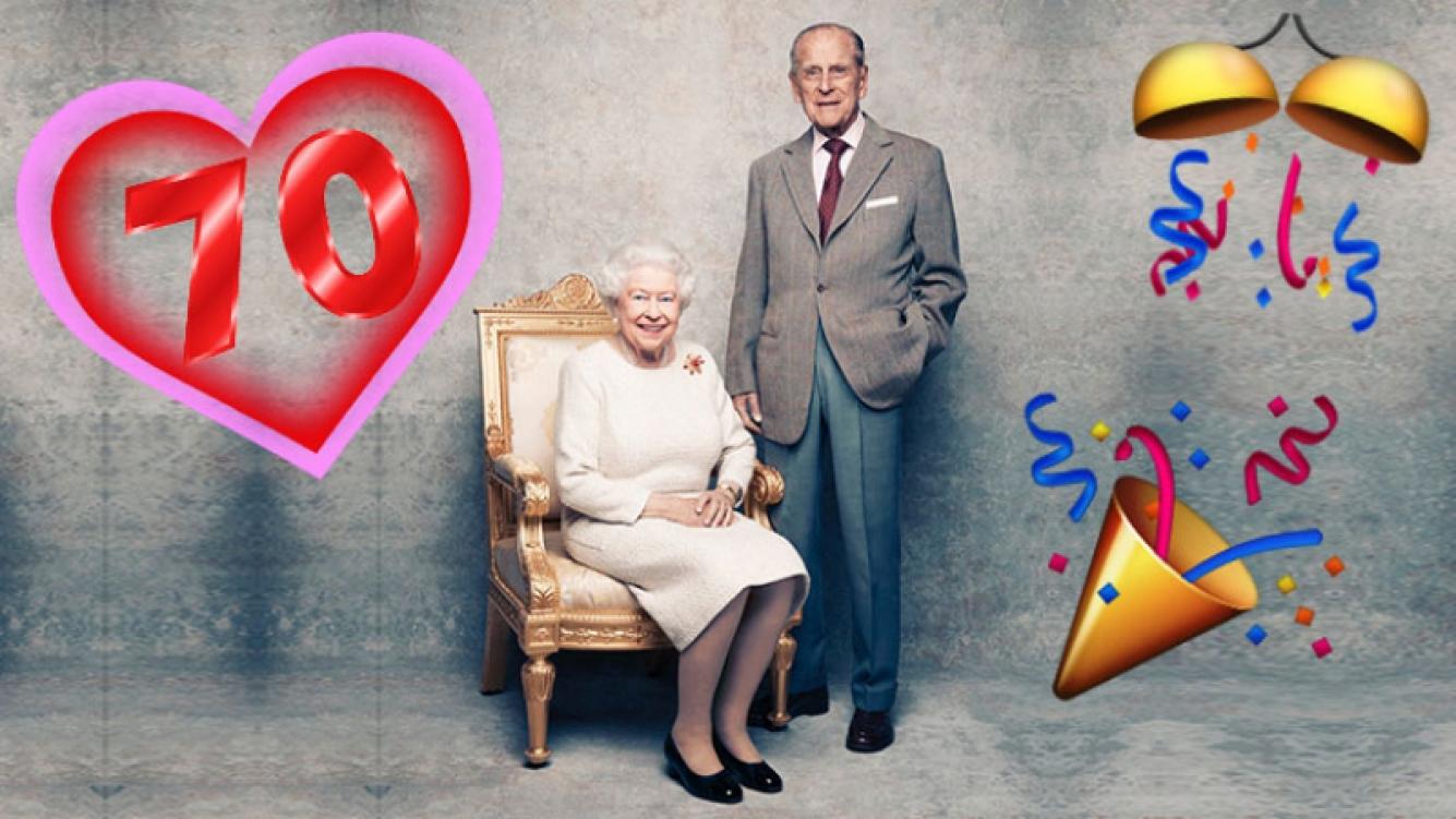 ¡Bodas de titanio! La tierna foto de la reina Isabel II y el príncipe Felipe por su 70° aniversario de casados.