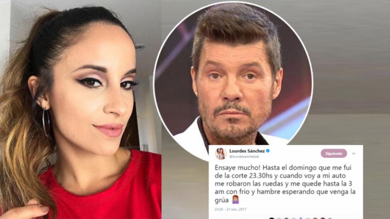 Tinelli disparó munición gruesa contra Lourdes Sánchez