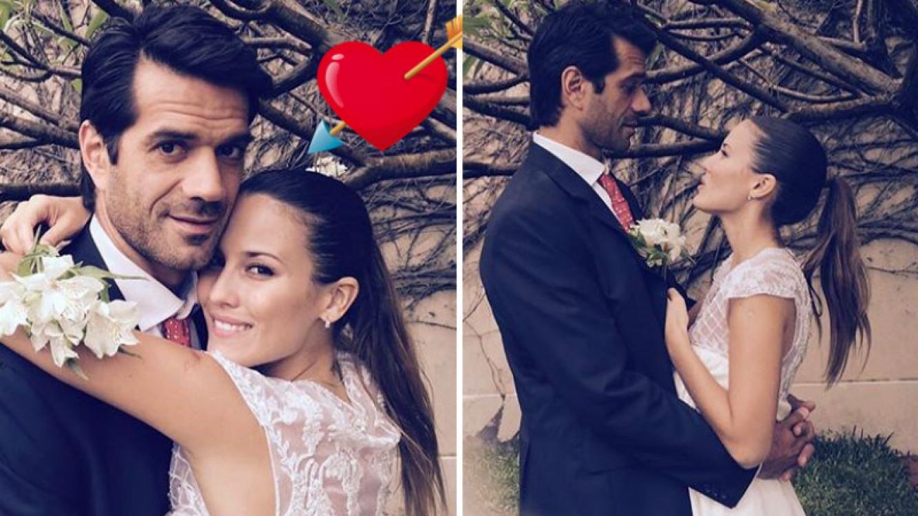 Luli Fernández y Cristian Cuneo Libarona festejaron su tercer aniversario de casados. (Foto: Instagram)