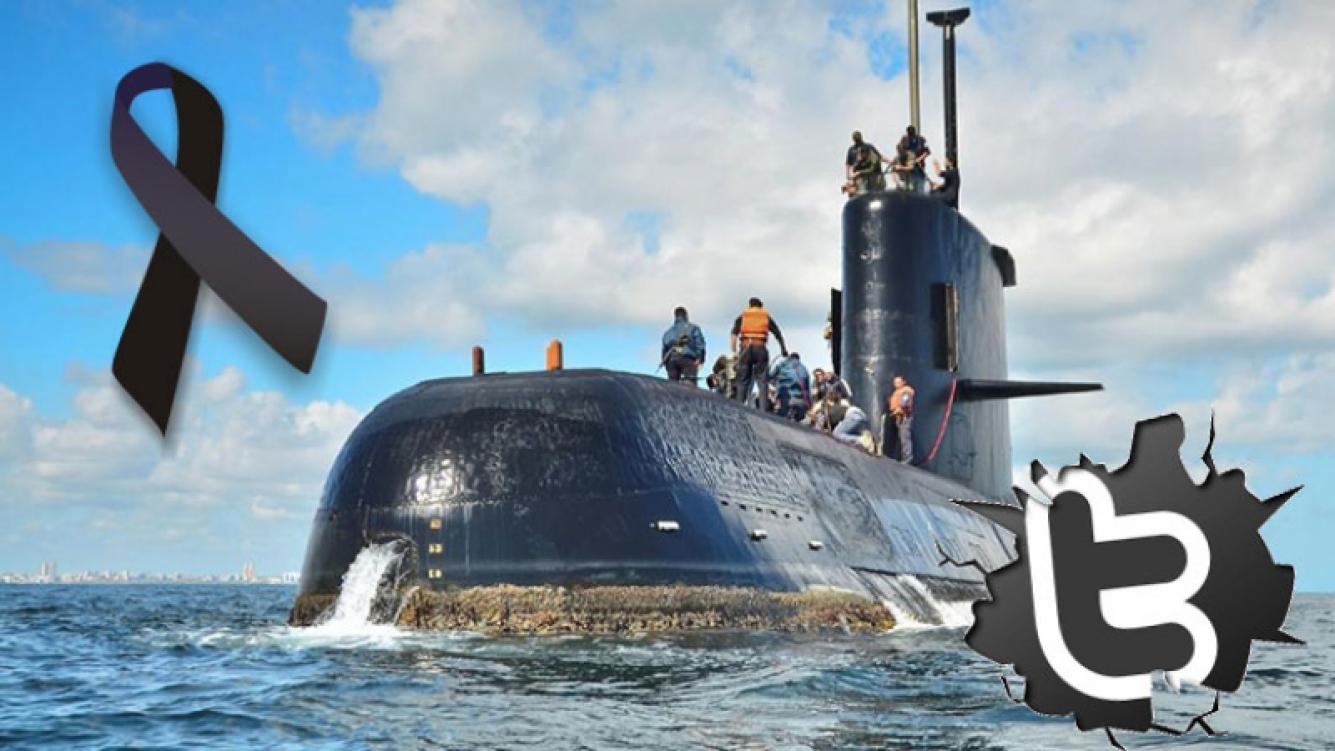 Tristeza nacional: los tweets de los famosos, tras la confirmación de una explosión en el submarino Ara San Juan.