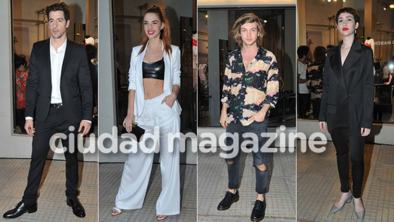 Esteban Lamothe, Julieta Nair Calvo, Franco Masini y Sofía Gala atraídos por el diseño y la moda